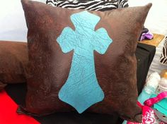 Western decorative pillows- large. $20.00, via Etsy.