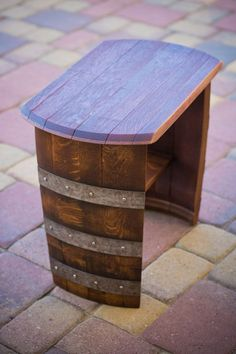 Don't you love these Wine Barrell chairs?