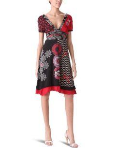 Desigual Women's Vest Julietty V-Neck Dress, Negro, Small Desigual, http://www.amazon.com/dp/B005VLXQ3Q/ref=cm_sw_r_pi_dp_jpL0pb0F2T7MQ