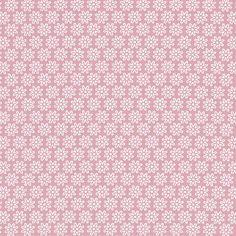 kankaita.com Cotton Pastellikukka 4 - Puuvilla - vanharoosa