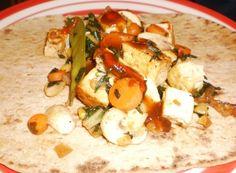 Revamp your stir fry with this veggie stir fry wrap recipe!