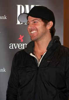"""Kip Moore is all smiles at the No. 1 party for """"Beer Money"""" in Nashville on Feb. 14, 2013. from Kip Moore 