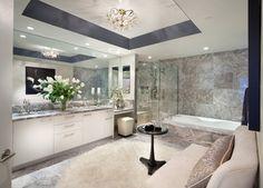 Turnberry Tower Arlington, VA - contemporary - bathroom - dc metro - Morgan Howarth Photography