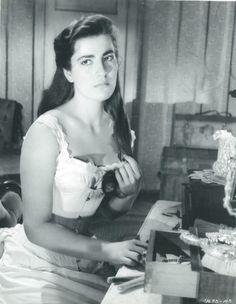 Greek actress Irene Pappas.