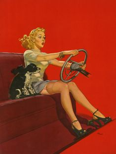 """""""Stop Sign"""" by Del Masters 1940's"""