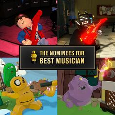 """The nominations are in... comment with your pick for """"Best Musician"""" in #LEGODimensions! #BackToTheFuture #LEGOBatmanMovie #AdventureTime"""