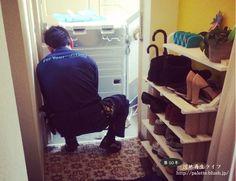 ドラム式洗濯機がやってきた。 http://palette.blush.jp/blog/?p=132