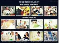 Food technologist, i'm the next!