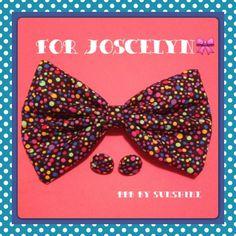 For Joscelyn <3 http://buttonsbowsbeyond.bugcartel.com