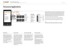 Avanade - Windows Phone Documents by Agustin Dana via Behance Windows Phone 7, Windows 8, Design Language, User Interface, Style Guides, Typography, Behance, Flat Design, Editorial
