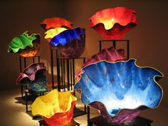 """""""Chihuly"""" glass - by David Chihuly - absolutely beautiful art glass!"""