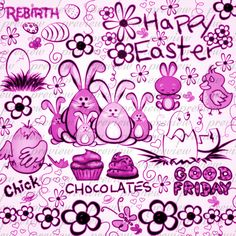 easter doodle