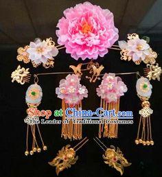 Chinese Handmade Flower Hair Accessories Headband Headbands Fascinators Wedding Hair Clips