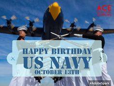Founded October 13th, 1775 #HappyBirthdayNavy