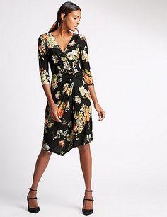 Printed Bodycon Dress | Marks & Spencer London