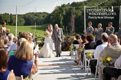 Real Wedding: Ellyn and Andrew at West Bend Country Club   Premier Bride Wisconsin