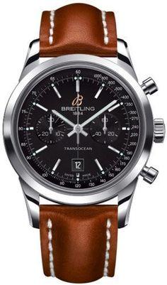 Breitling Transocean Chronograph 38mm Watch #menswatchesbreitling