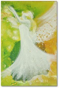 Limited angel art photo guardian angel modern by HenriettesART