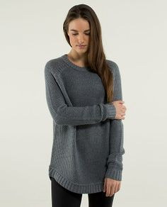 Lululemon passage sweater - grey
