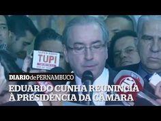 Eduardo Cunha renuncia à presidencia da Câmara