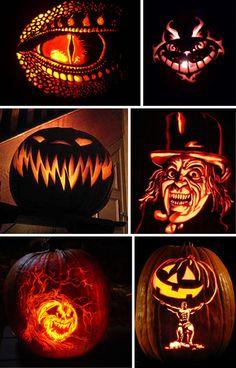 Lit-Carved-Pumpkins.jpg (468×730)