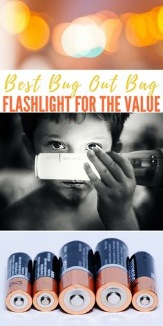 Best Bug Out Bag Flashlight For The Value - A flashlight is one of the most important items you can have on you in an emergency or just to find your way around after dark. Finding a good flashlight that isn't expensive is pretty difficult sometimes though. Well I've found one for you.