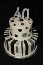 Image result for 40th birthday cake for men