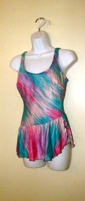Fantastic Robby Len PASTEL One Piece SWIMSUIT by BeauMondeVintage, $34.00