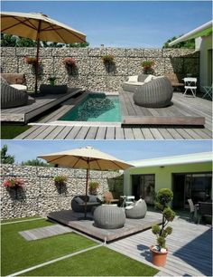 Idea, secrets, and resource beneficial to obtaining the greatest end result and attaining the optimum usage of Front House Landscaping You are in the right place about fiberglass pool ideas Here we of Small Backyard Pools, Small Pools, Backyard Patio Designs, Swimming Pools Backyard, Small Swimming Pools, Lap Pools, Indoor Pools, Front House Landscaping, Backyard Landscaping