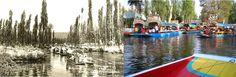 Xochimilco 1950 - Xochimilco 2012 (México City, Mexico)
