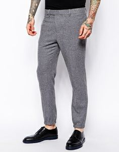 ASOS Tapered Fit Smart Cuffed Joggers