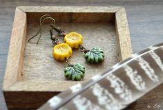 Jesenné kvetinky Elf, Drop Earrings, Vintage, Jewelry, Jewlery, Jewerly, Schmuck, Elves, Drop Earring