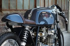 Let's face it: A 1970s Honda CB is a pretty easy bike to customize. It looks good straight out of the box, and custom parts are a dime-a-dozen. This CB550 from California-based Raccia Motorcycles is something special though.