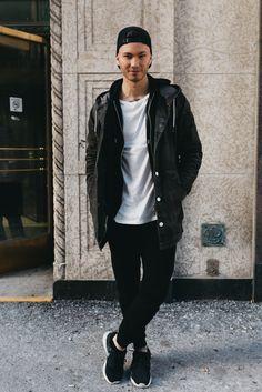 Stevo Trann at Toronto Men's Fashion Weel