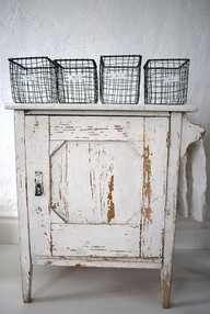 DIY:: Wire Baskets (So Inexpensive to Make)