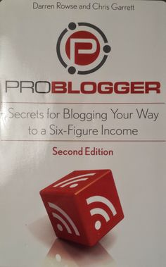 As someone who maintains a blog, I am looking for ways to improve my blog and I thought what better way to find improvement tips than from folks who make money at it. I was right. In ProBlogger: Se...