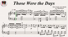 Those Were The Days - Mary Hopkin, Piano https://youtu.be/r0_wZaGxxUk