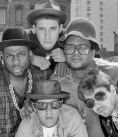 Run DMC & The Beastie Boys. This wasn't really my kind of music at all except for Walk This Way - that song blew everyone away :) I Love Music, Music Is Life, Good Music, Run Dmc, Beastie Boys, Rap Music, Music Icon, Hip Hop Artists, Music Artists