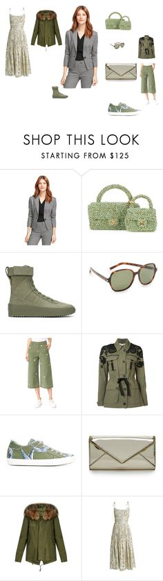 """Fashion bahubali"" by emmamegan-5678 ❤ liked on Polyvore featuring Brooks Brothers, Chanel, Fear of God, Yves Saint Laurent, Siwy, Veronica Beard, Philippe Model, Rebecca Minkoff, Mr & Mrs Italy and Brock Collection"