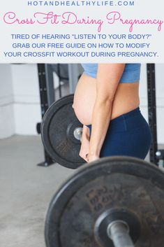 Are you pregnant and searching for a way to continue your CrossFit workout? Trying to avoid diastasis recti during pregnancy? Check out this FREE guide on how to scale your workout during pregnancy. Crossfit Workouts At Home, Crossfit Motivation, Crossfit Gym, Pregnancy Workout, Pregnancy Fitness, Crossfit Pregnancy, Pregnant Crossfit, Pregnancy Guide, Diastasis Recti Exercises