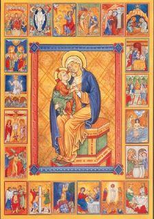 Prières catholiques | Le Rosaire médité avec la Bible. | Le Rosaire Biblique MYSTÈRES JOYEUX Premier Mystère Joyeux: L'Annonciation. Le sixiè...