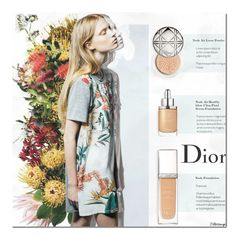 """""""Diorskin: Nude"""" by filletrange ❤ liked on Polyvore featuring beauty, Shabby Chic, Christian Dior, BeautyTrend, Beauty, Dior, nude and diorskin"""