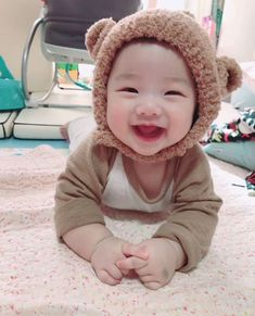a baby bear? im soft - a baby bear? im soft You are in the right place about baby gifts Here we offer you the most beautif - Cute Baby Boy, Cute Little Baby, Baby Kind, Little Babies, Cute Kids, Cute Asian Babies, Korean Babies, Asian Kids, Cute Babies