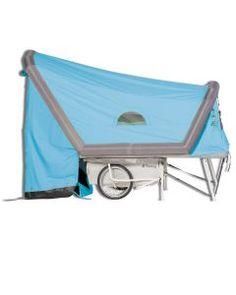 Electric Cargo Bike, Bike Trailer, Mini Camper, Caravans, Drafting Desk, Motorhome, Turtle, Survival, Homeless Shelters