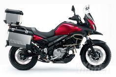 2015 Suzuki V-Strom 650XT ABS – First Look INTERMOT 2014: New V-Strom model is tuned for torque, smoothness.