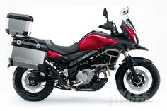 2015 Suzuki V-Strom 650XT ABS – First Look INTERMOT 2014: New V-Strom model is tuned for torque, smoothness.