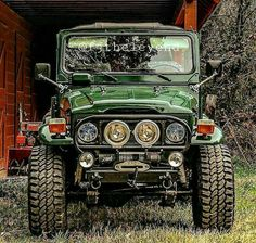 FJ 40 Trail Ready Off Road Beast! #Toyotaoffroad 4x4