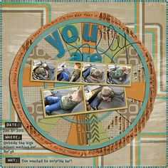 """""""You are Silly"""" by javamonster, as seen in the Club CK Idea Galleries. #scrapbook #scrapbooking #creatingkeepsakes"""
