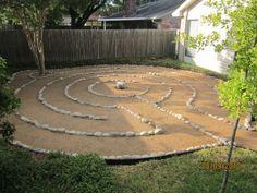 Backyard Labyrinth                                                                                                                                                      More
