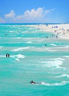 Pensacola Beach...I love this beach go there a lot!